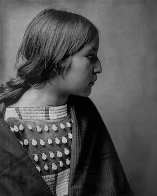 Arikara Girl Circa 1903 Poster