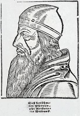 Aristotle Poster by Paul D Stewart