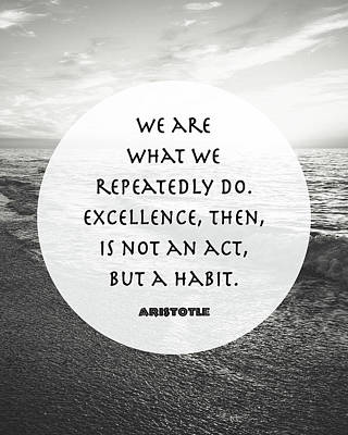 Aristotle - We Are Poster