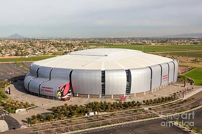 Arizona Cardinals Stadium Poster by John Ferrante