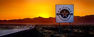 Arizona Centennial Poster by Az Jackson