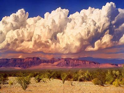 Arizona Monsoon Poster