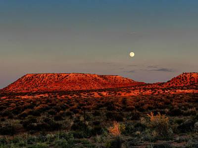 Arizona Supermoon 002 Poster