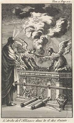 Ark Of The Covenant, Jan Luyken, Pieter Mortier Poster by Jan Luyken And Pieter Mortier