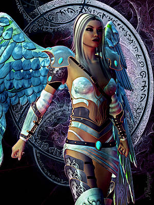 Arkangel Poster by Jean Gugliuzza