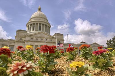 Arkansas State Capitol - Little Rock Poster