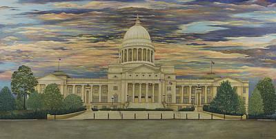 Arkansas State Capitol Poster
