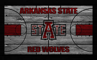 Arkansas State Red Wolves Poster