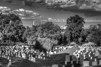 Poster featuring the photograph Arlington Cemetery by Ross Henton