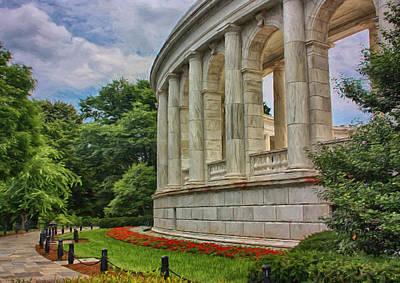Arlington Memorial Amphitheater Poster by Kim Hojnacki