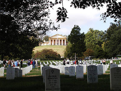 Arlington National Cemetery Poster by Bill Cannon