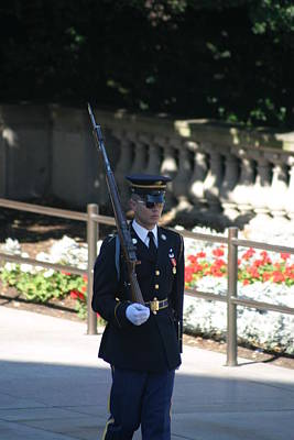 Arlington National Cemetery - Tomb Of The Unknown Soldier - 121215 Poster by DC Photographer