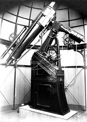 Armagh 10-inch Refractor Telescope Poster by Royal Astronomical Society
