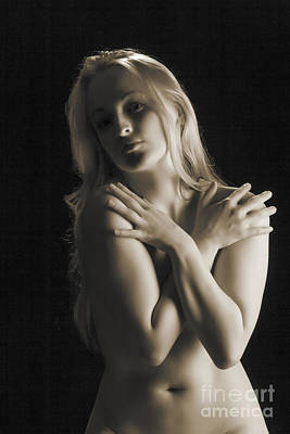 Arms Crossed Nude 1104 .01 Poster