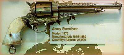 Army Revolver 1875 Poster