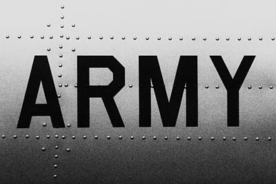 Army Strong Poster by Benjamin Yeager
