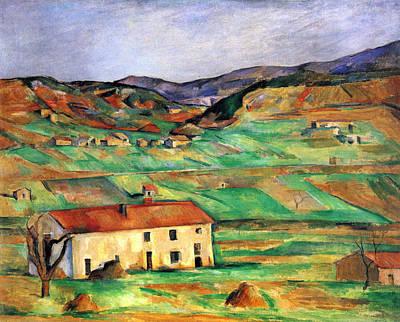 Around Gardanne By Cezanne Poster