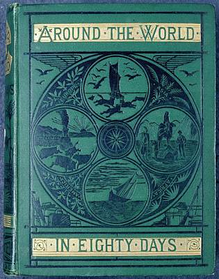 Around The World In Eighty Days Poster by British Library