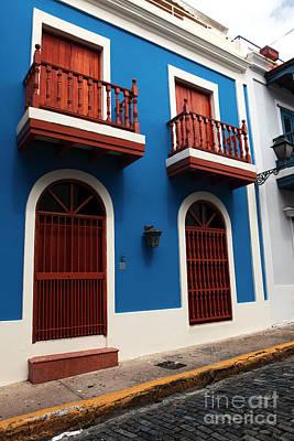 Arquitectura En San Juan Poster by John Rizzuto