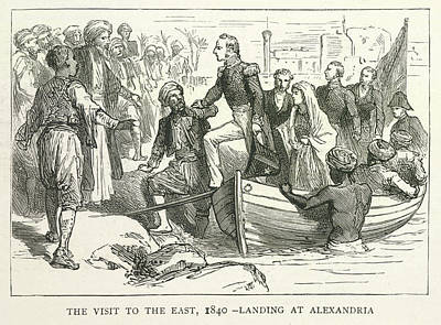 Arriving At Alexandria Poster