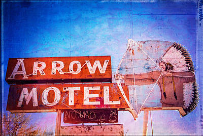 Arrow Motel Poster by Steven Bateson