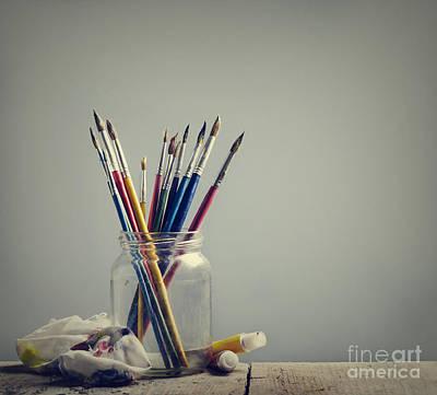 Art Brushes Poster by Jelena Jovanovic