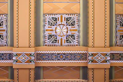 Art Deco Ceiling Decoration Poster