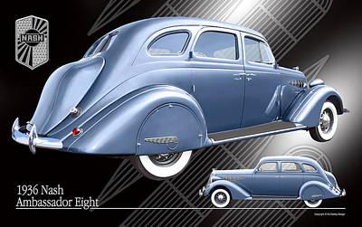 Art Deco Nash Poster