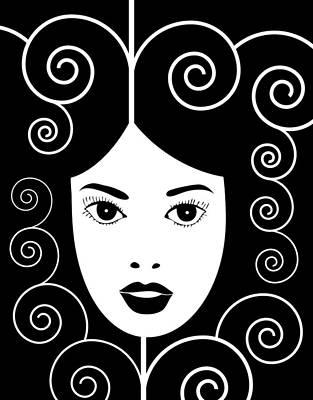 Art Nouveau Poster Poster by Frank Tschakert