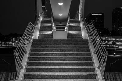 Art Stairs Poster by Chuck De La Rosa