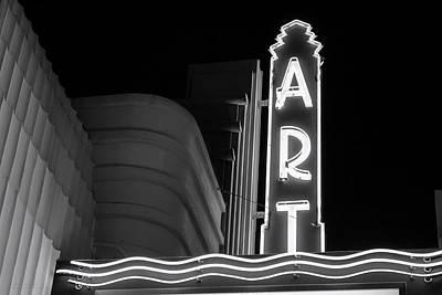 Art Theatre Long Beach Denise Dube Poster