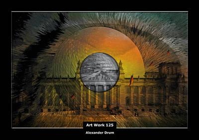 Art Work 125 Reichstag Berlin Poster by Alexander Drum