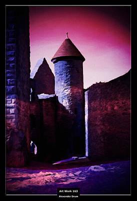 Art Work 163 Castle Lichtenberg Poster by Alexander Drum