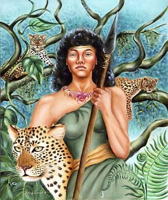 Artemis Poster by Karin  Leonard
