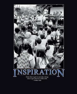 Arthur Ashe Inspiration  Poster