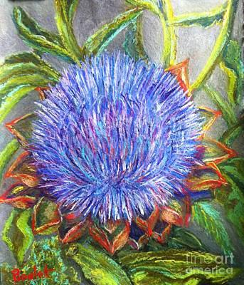 Artichoke Blossom Poster