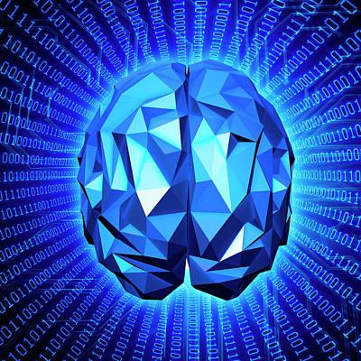 Artificial Intelligence Poster by Andrzej Wojcicki