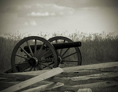Artillery At Mcpherson Ridge Poster