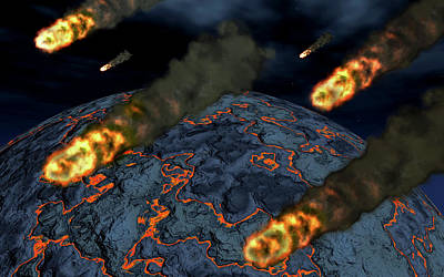 Artist Concept Depicting The Formation Poster by Mark Stevenson