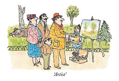 'artist' Poster by William Steig
