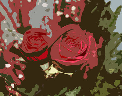 Artistic Roses Poster