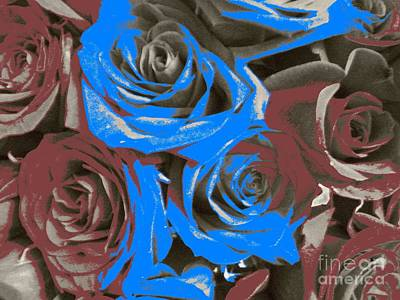 Poster featuring the photograph Artistic Roses On Your Wall by Joseph Baril