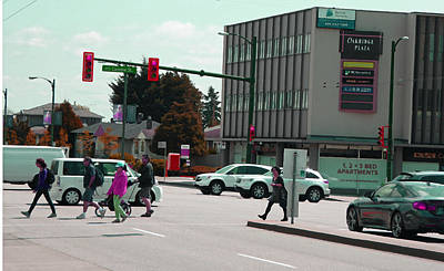 Poster featuring the photograph Oakridge Intersection by Laurie Tsemak