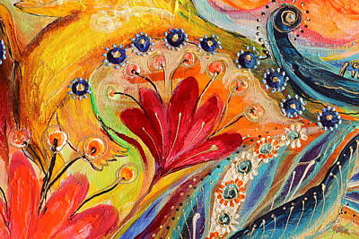 Artwork Fragment 86 Poster by Elena Kotliarker