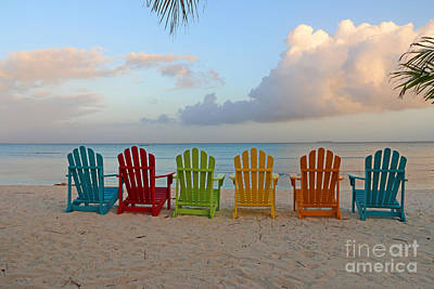 Aruba Sunrise 0746a Poster