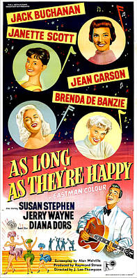 As Long As Theyre Happy, Us Poster Poster by Everett