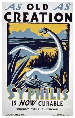 As Old As Creation - Vintage Wpa Poster Poster by Edward Fielding