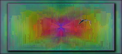 As The Gull Flies Poster by Tim Allen