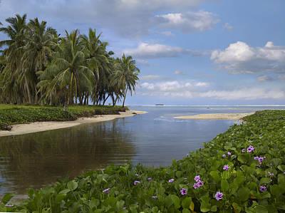 Asan Beach In Guam Poster