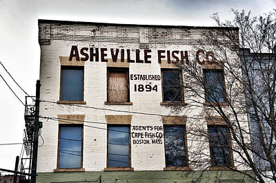 Asheville Fish Co Poster
